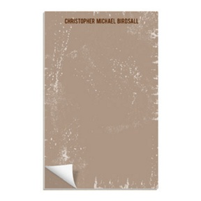 Distressed Paper -- Notepads