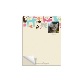 Cat Lover -- Custom Notepads