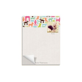 Dog Lover -- Custom Notepads