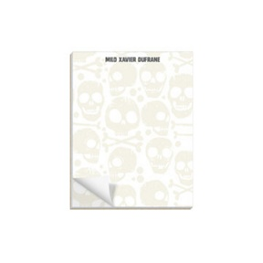 Skull And Crossbones -- Custom Notepads