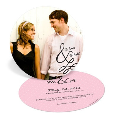 To Have & To Hold Save the Date Cards