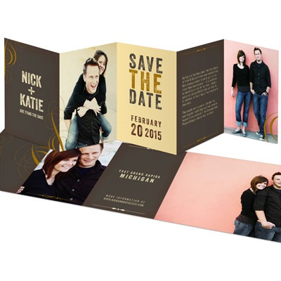 Whirlwind Romance Save the Date Cards