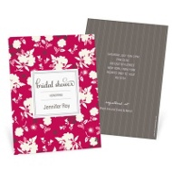 Fresh Blooms Bridal Shower Invitations