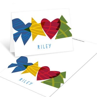 Peace, Hope, Love, Joy Christmas Mini Note Cards