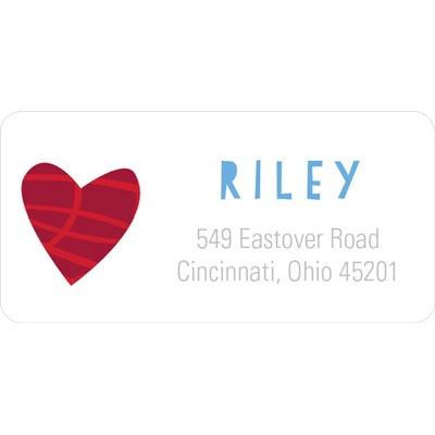 Love Christmas Address Labels