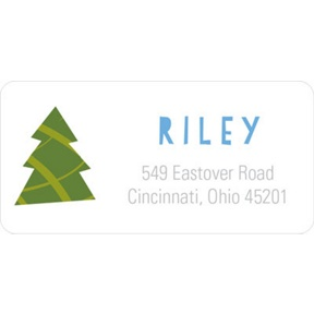 Joy -- Christmas Address Labels