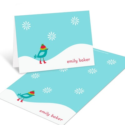 Winter Wonderland Christmas Mini Note Cards
