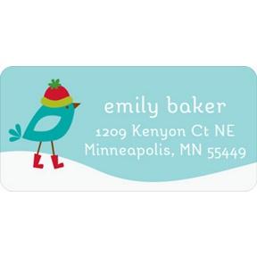 Winter Wonderland -- Christmas Address Labels