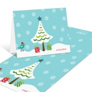 Winter Wonderland Christmas Thank You Cards