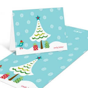 Winter Wonderland -- Christmas Thank You Cards
