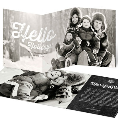 Great Big Greeting Photo Christmas Cards
