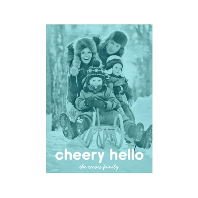 Photo Paper Photo Filter Vertical Photo Christmas Cards