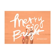 Photo Paper Merry & Bright Screen Christmas Cards