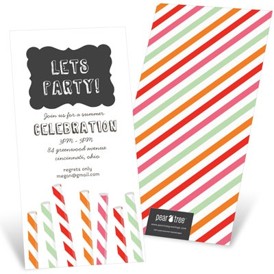 Sip Something Cool Party Invitations