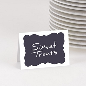 Sip Something Cool Table Cards -- Kids Party Decorations