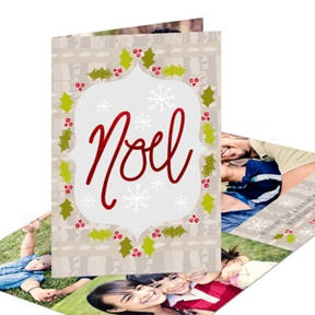 Framed Noel -- Religious Christmas Cards