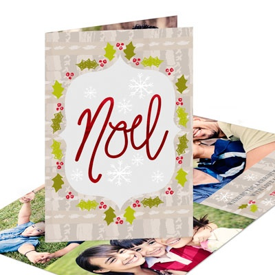 Framed Noel Religious Christmas Cards