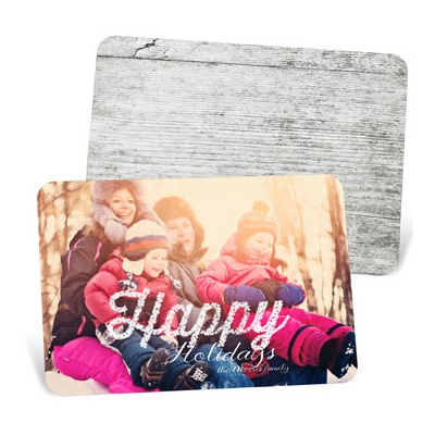 Merry Lights Holiday Photo Cards