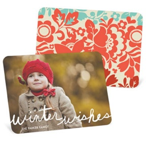 Colorful Photo Backer -- Christmas Cards