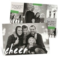 Handwritten Cheer Christmas Cards