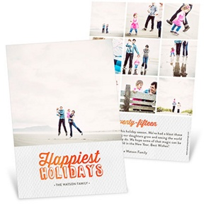 Happiest Holidays -- Holiday Photo Cards