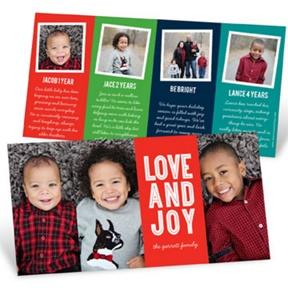 Many Photos Many Stories -- Christmas Cards