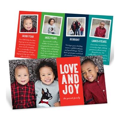 Many Photos Many Stories Holiday Photo Cards