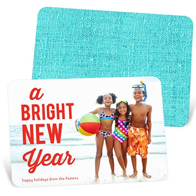 Bright Photo Holiday Photo Cards