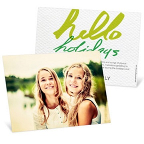 Full Photo Greeting Horizontal -- Christmas Cards