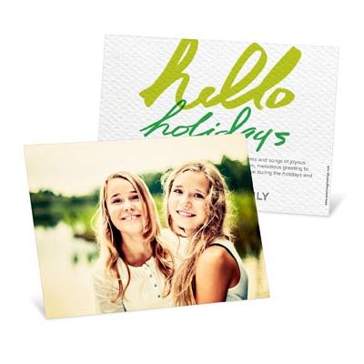 Full Photo Greeting Horizontal Photo Christmas Cards