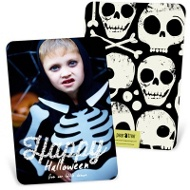 Happy Lights Vertical Halloween Photo Cards