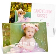Frame It Horizontal Halloween Photo Cards