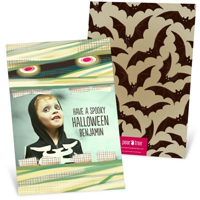 Spooky Eyes Halloween Photo Cards