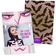 Vampire Bite Halloween Photo Cards