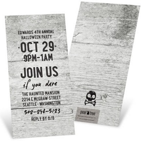 Haunted House -- Halloween Invitations