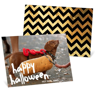 Show Off Your Costume Halloween Photo Cards