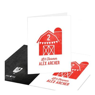 Li'l Farmer Kids Thank You Cards