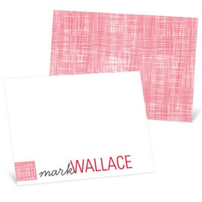 Patch Of Color -- Thank You Cards