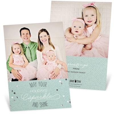 Sparkle & Shine Holiday Photo Cards