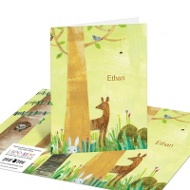 Forest Animals Kids Thank You Cards