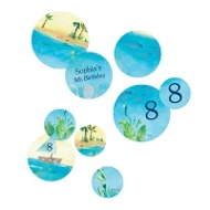 Birthday By The Sea Table Decor Kids Party Decorations