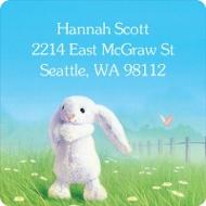 My Snuggle Bunny Kids Address Labels