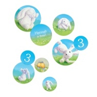 My Snuggle Bunny Table Decor Kids Party Decorations
