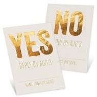 Shining Moment Wedding Response Cards