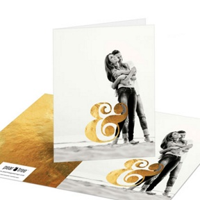 Shining Moment -- Wedding Thank You Cards