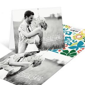 Summer Bouquet -- Wedding Thank You Cards