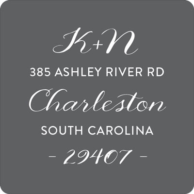 On This Day Wedding Address Labels