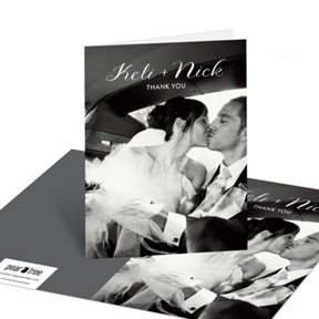 On This Day -- Wedding Thank You Cards