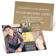 Proud Moments Mini Graduation Announcements