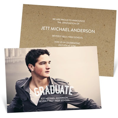 The Graduate College Graduation Announcements